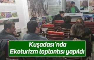 Kuşadası'nda Ekoturizm toplantısı yapıldı