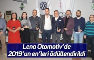 Lena Otomotiv'de 2019'un en'leri ödüllendirildi