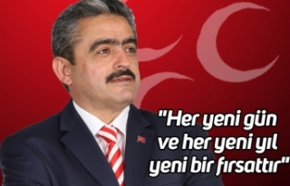 """MHP İl Başkanı Alıcık, """"Her yeni gün ve..."""