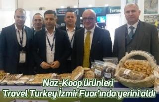 Naz-Koop ürünleri Travel Turkey İzmir Fuar'ında...