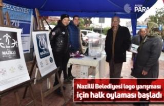 Nazilli Belediyesi logo yarışması için halk oylaması...