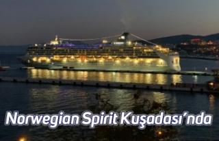 Norwegian Spirit Kuşadası'nda