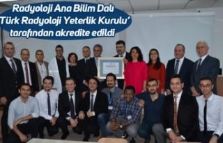 Radyoloji Ana Bilim Dalı 'Türk Radyoloji Yeterlik...