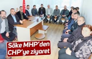 Söke MHP'den CHP'ye ziyaret