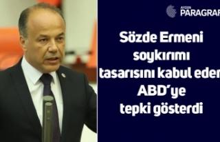 Sözde Ermeni soykırımı tasarısını kabul eden...