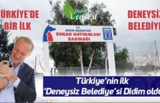 Türkiye'nin ilk 'Deneysiz Belediye'si Didim...