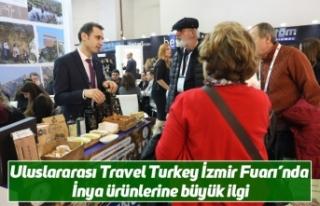 Uluslararası Travel Turkey İzmir Fuarı'nda İnya...