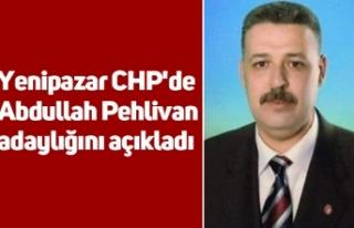 Yenipazar CHP'de Abdullah Pehlivan adaylığını...