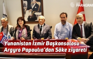 Yunanistan İzmir Başkonsolosu Argyro Papoulıa'dan...