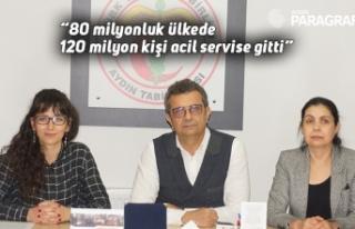 """80 milyonluk ülkede 120 milyon kişi acil servise..."