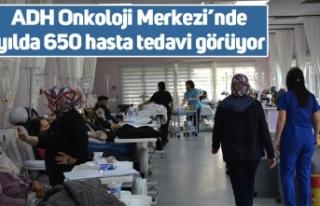 ADH Onkoloji Merkezi'nde yılda 650 hasta tedavi...