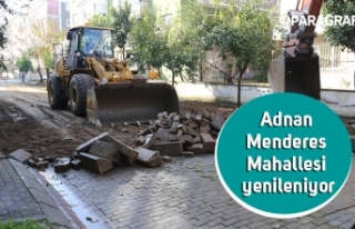 Adnan Menderes Mahallesi yenileniyor