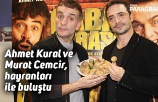 Ahmet Kural ve Murat Cemcir, hayranları ile buluştu