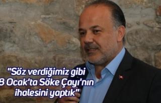 """AK Partili Yavuz; """"Söz verdiğimiz gibi 8 Ocak'ta..."""