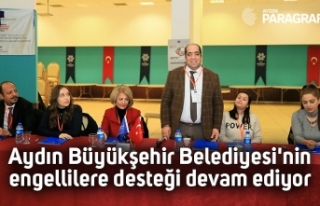 Aydın Büyükşehir Belediyesi'nin engellilere...