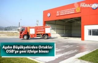 Aydın Büyükşehirden Ortaklar OSB'ye yeni...