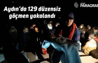 Aydın'da 129 düzensiz göçmen yakalandı