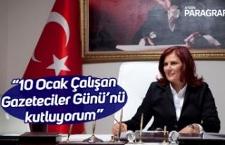 """Başkan Çerçioğlu; """"10 Ocak Çalışan Gazeteciler..."""