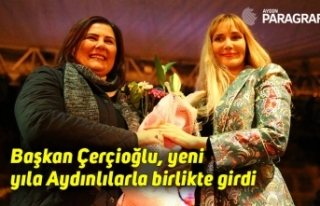 Başkan Çerçioğlu, yeni yıla Aydınlılarla birlikte...