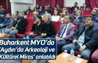 Buharkent MYO'da 'Aydın'da Arkeoloji ve Kültürel...