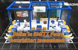 Didim'in EMİTT Fuarı hazırlıkları tamamlandı