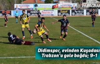 Didimspor, evinde Kuşadası Trabzon'u gole boğdu;...