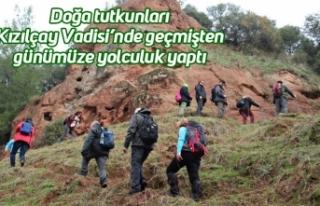 Doğa tutkunları Kızılçay Vadisi'nde geçmişten...