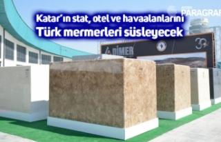 Katar'ın stat, otel ve havaalanlarını Türk mermerleri...