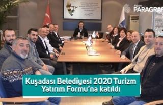 Kuşadası Belediyesi 2020 Turizm Yatırım Formu'na...