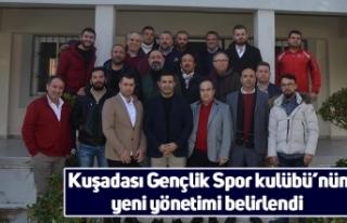 Kuşadası Gençlik Spor kulübü'nün yeni yönetimi...