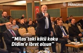 """Milas'taki kötü koku Didim'e ibret olsun"""