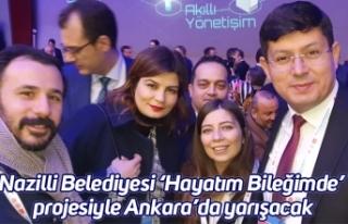 Nazilli Belediyesi 'Hayatım Bileğimde' projesiyle...