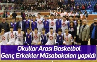 Okullar Arası Basketbol Genç Erkekler Müsabakaları...