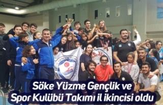Söke Yüzme Gençlik ve Spor Kulübü Takımı il...