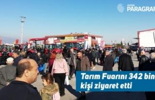 Tarım Fuarını 342 bin kişi ziyaret etti