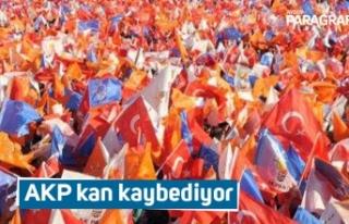 AKP kan kaybediyor