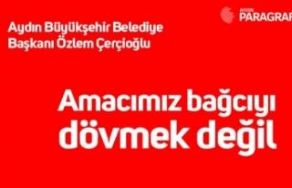 Aydın Büyükşehir Belediye Başkanı Özlem Çerçioğlu:...