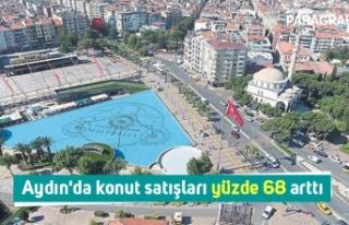 Aydın'da konut satışları yüzde 68 arttı