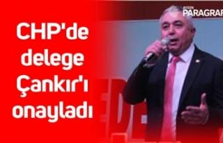 CHP'de delege Çankır'ı onayladı