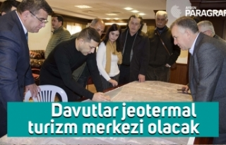 Davutlar jeotermal turizm merkezi olacak