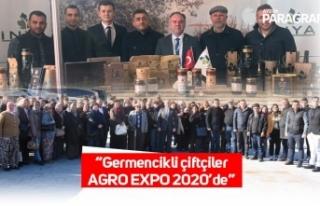 """""""Germencikli çiftçiler AGRO EXPO 2020'de"""""""