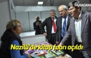 Nazilli'de kitap fuarı açıldı