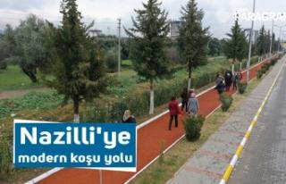 Nazilli'ye modern koşu yolu