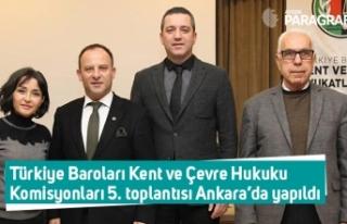 Türkiye Baroları Kent ve Çevre Hukuku Komisyonları...