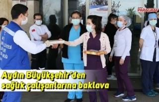 Aydın Büyükşehir'den sağlık çalışanlarına...