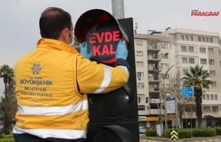 Aydın'da 'Evde kal' uyarıları artırılıyor