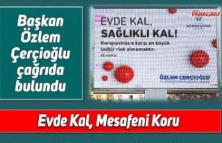Başkan Özlem Çerçioğlu çağrıda bulundu
