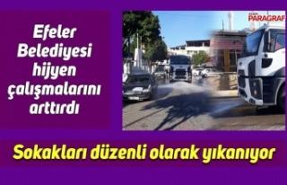 Efeler Belediyesi hijyen çalışmalarını arttırdı