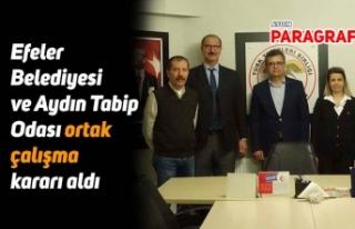 Efeler Belediyesi ve Aydın Tabip Odası ortak çalışma...