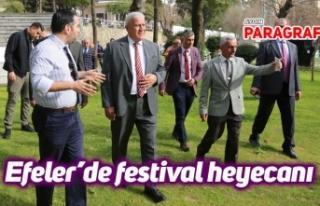 Efeler'de festival heyecanı